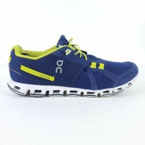 On Cloud Womens Athletic Shoes Purple Yellow 9M